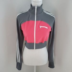 RARE Bebe Sport Cropped Track Jacket M